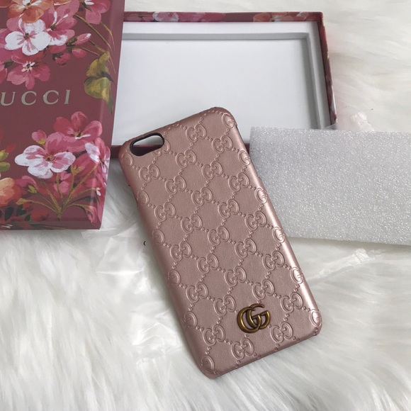newest collection d24fb fdd74 GG Rose Gold IPhone 6 Plus Case NEW